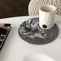 GIFT BOX - Candle holder & marbled tray - Craftsmanship - Sea Ice & Hurricane